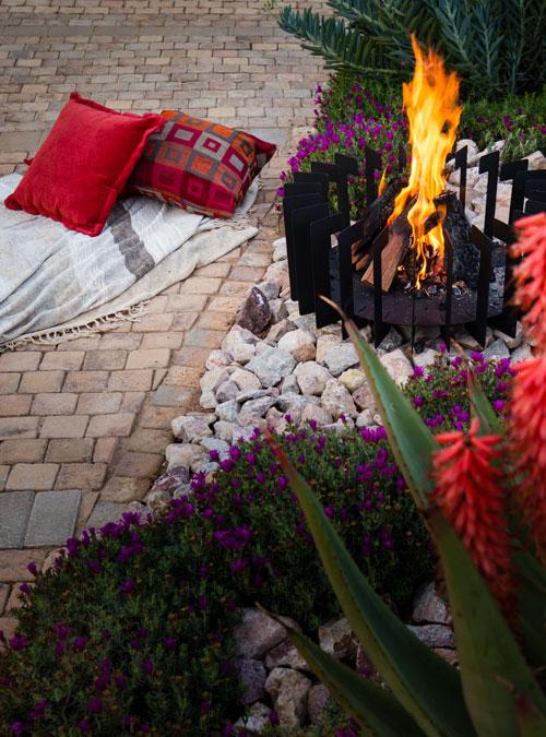 FireBlades designer fire pit - Rectangle
