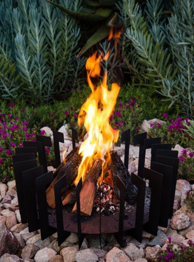 FireBlades Designer Fire Pit - Rectangle